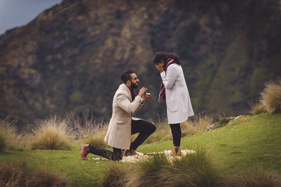 Rustam and Harustat's Royal Punjabi Wedding in Sydney, The Proposal