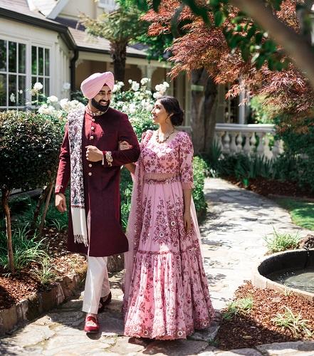 Rustam and Harustat's Royal Punjabi Wedding in Sydney, engagement1