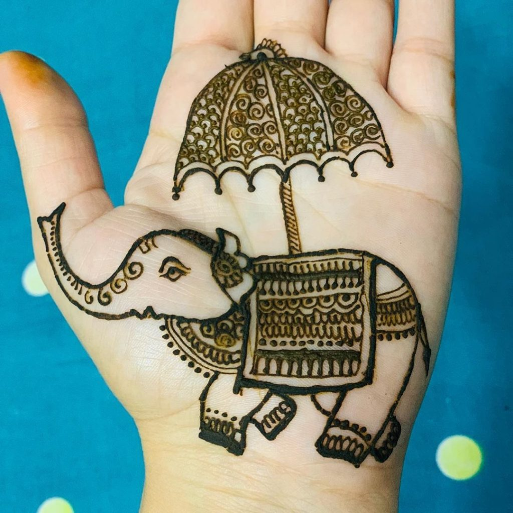 15+ Unique Mehendi Designs for Kids Hands– Check Out Now!, Animal Design