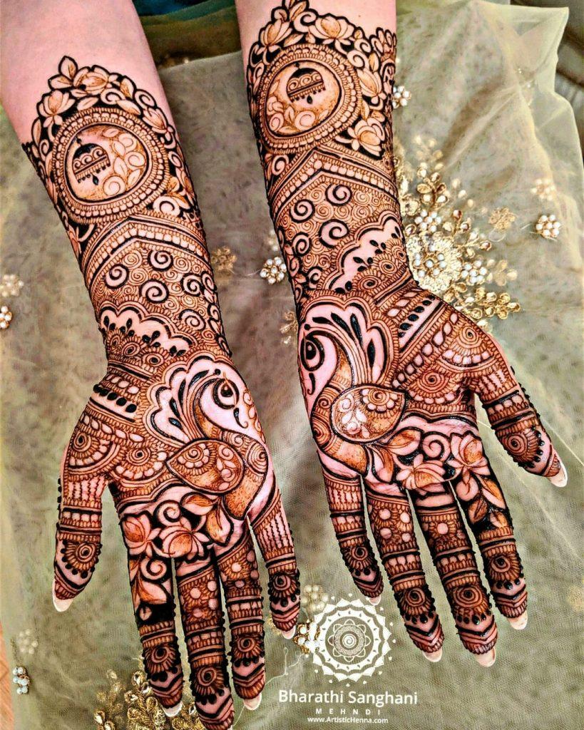 10 Rockstar Mehendi Artist You Must Follow for your henna Inspo!, Bharathi bridal henna