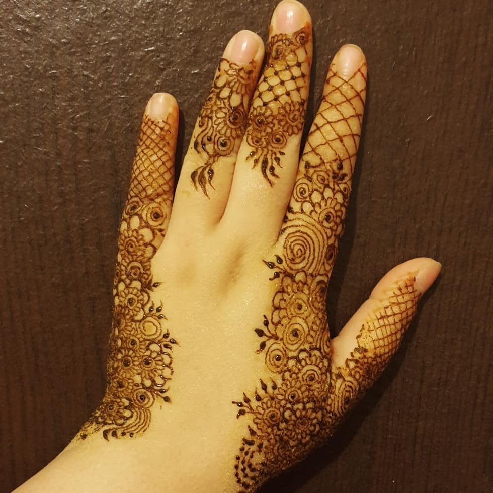 15+ Unique Mehendi Designs for Kids Hands– Check Out Now!, Detailed Henna Designs