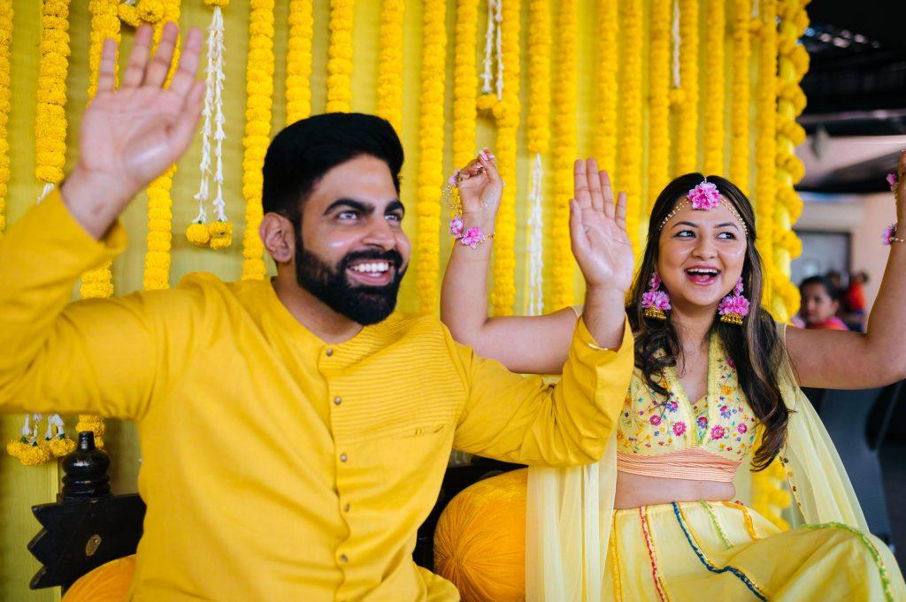 Perfectly Planned NRI Wedding of Punjabi Couple- Gurpreet & Shiv, Haldi SIM 2723