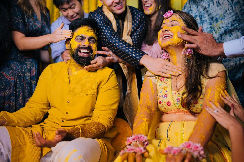 Perfectly Planned NRI Wedding of Punjabi Couple- Gurpreet & Shiv, Haldi SIM 3012