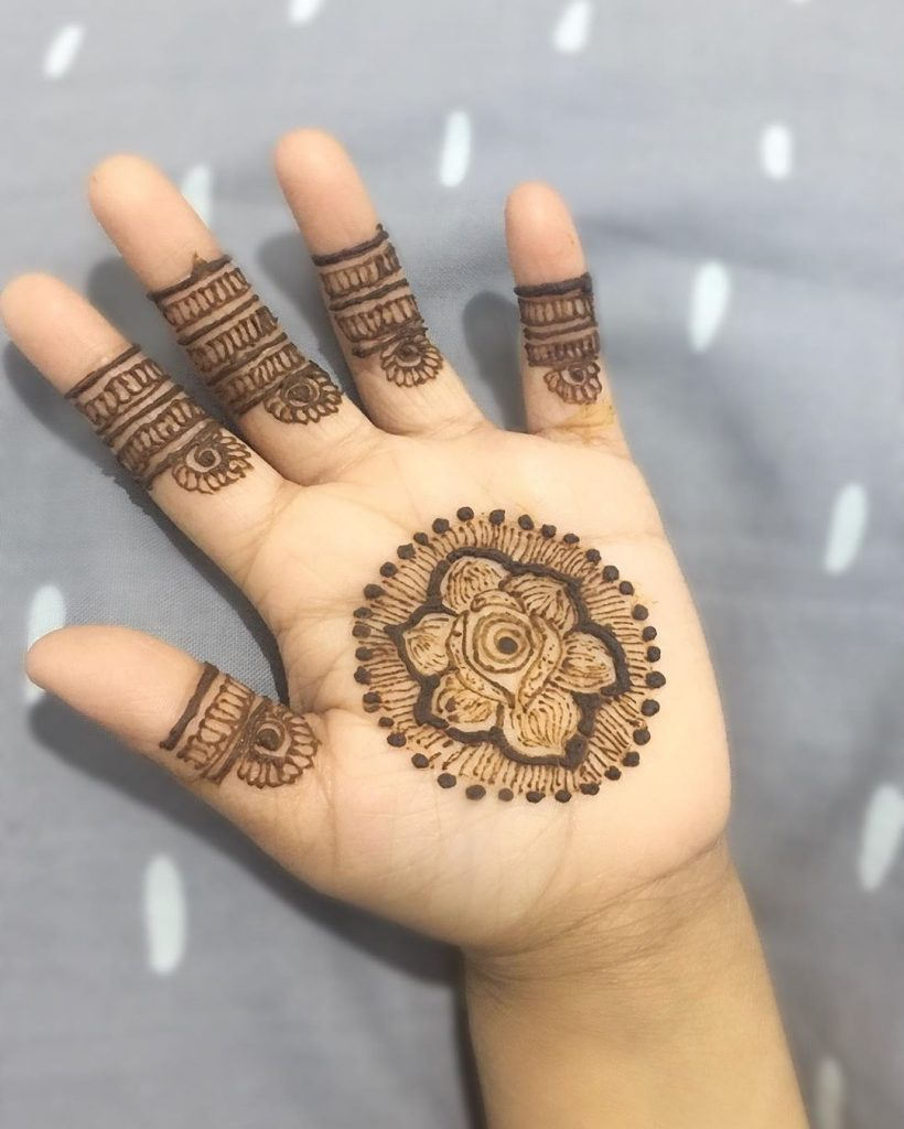 15+ Unique Mehendi Designs for Kids Hands– Check Out Now!, Henna Flows