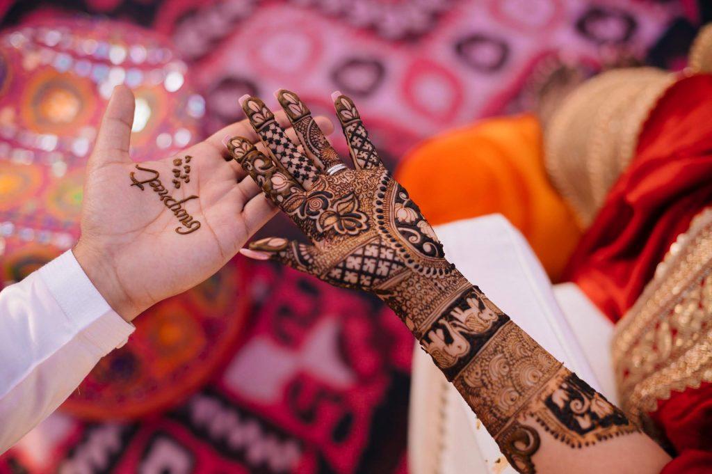 Perfectly Planned NRI Wedding of Punjabi Couple- Gurpreet & Shiv, Mehandi SIM 4002