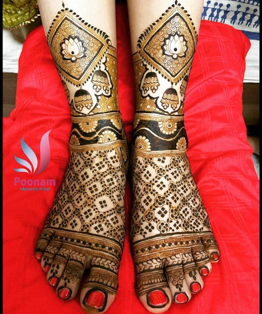 10 Rockstar Mehendi Artist You Must Follow for your henna Inspo!, Poonam 1