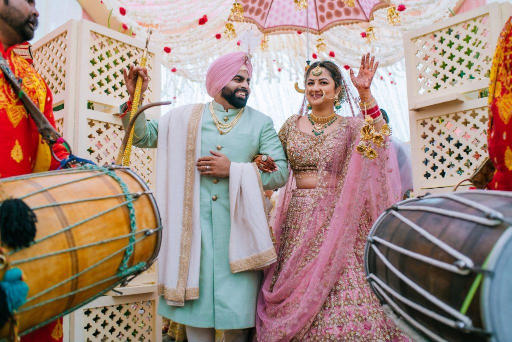 Perfectly Planned NRI Wedding of Punjabi Couple- Gurpreet & Shiv, Wedding JAI 8124