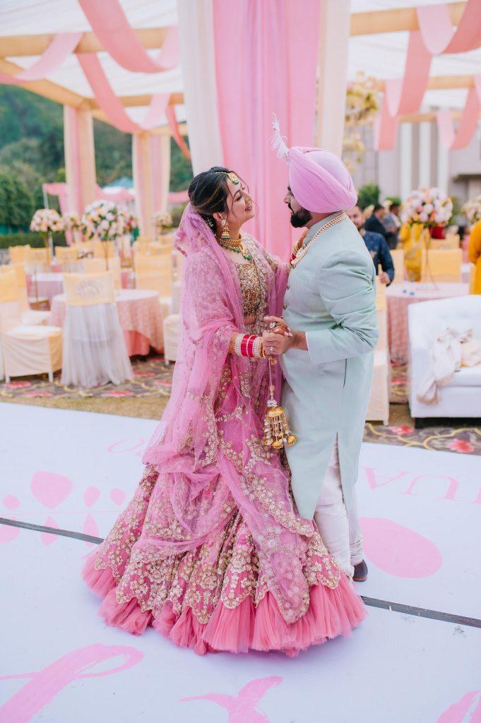 Perfectly Planned NRI Wedding of Punjabi Couple- Gurpreet & Shiv, Wedding JAY 5306