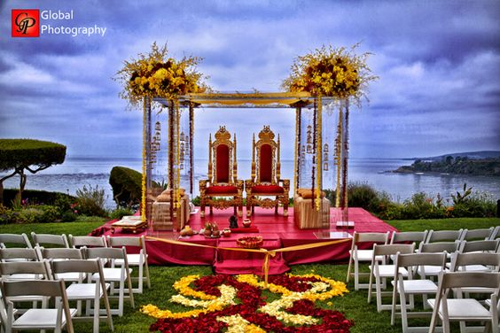 12 Gorgeous Mandap Decor For Beach Weddings, 5 2