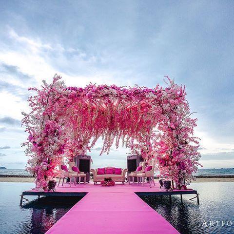 12 Gorgeous Mandap Decor For Beach Weddings, 6 1 1