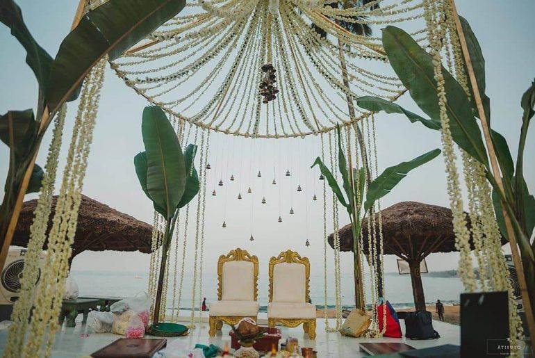 12 Gorgeous Mandap Decor For Beach Weddings, 8 1