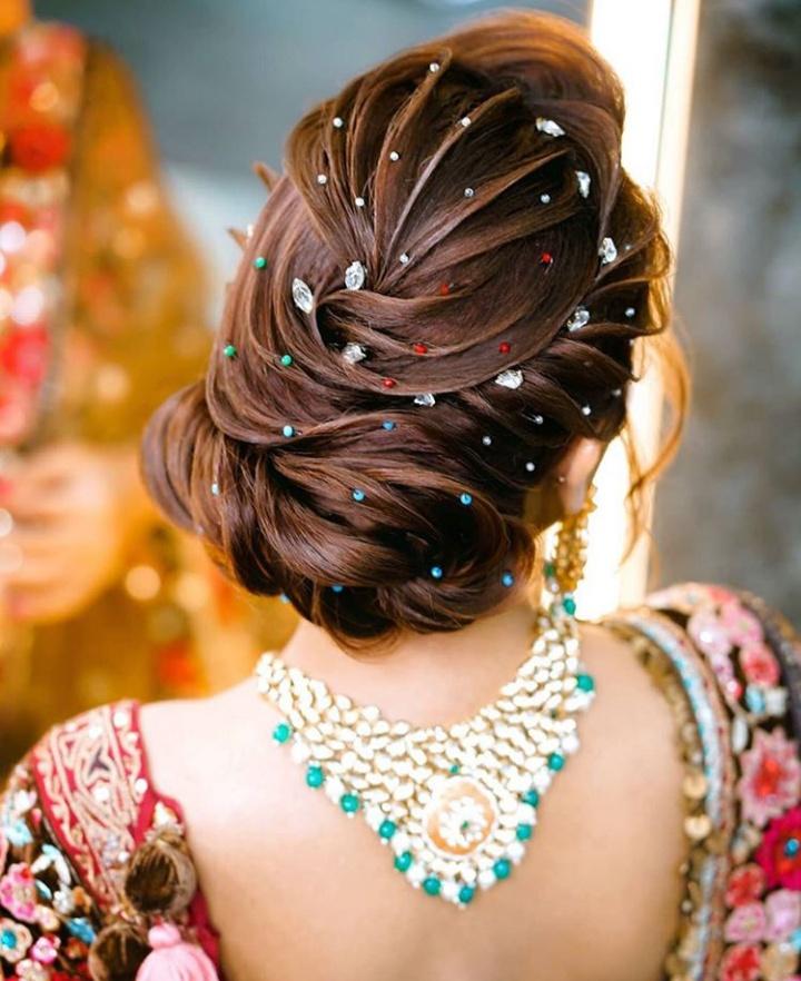 best bridal bun