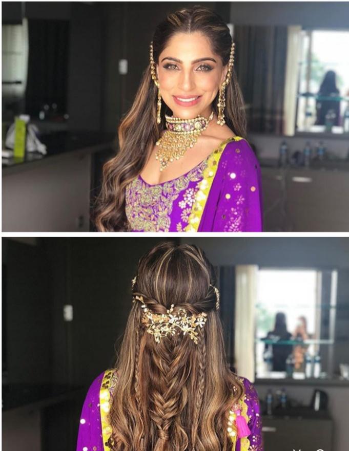 trending bridal hairstyle