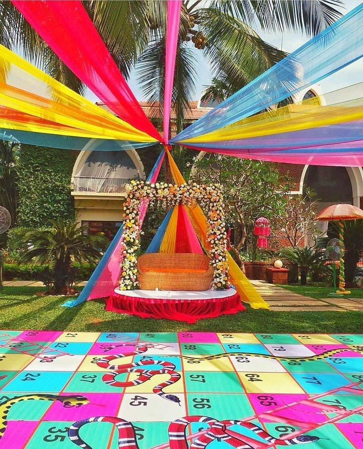 19 Incredible Haldi Decor Ideas for the perfect Indian Wedding, 13 3