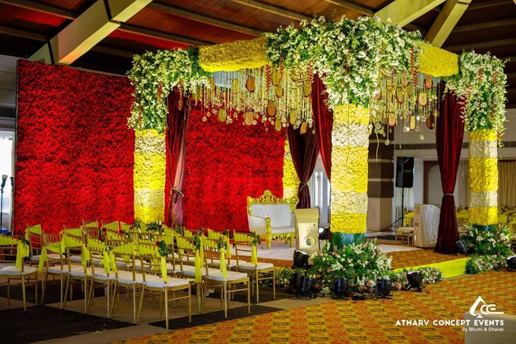 19 Incredible Haldi Decor Ideas for the perfect Indian Wedding, 18