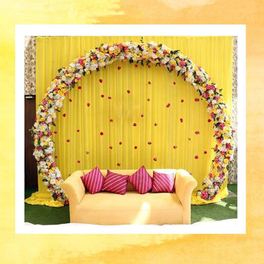 19 Incredible Haldi Decor Ideas for the perfect Indian Wedding, 3 6 1