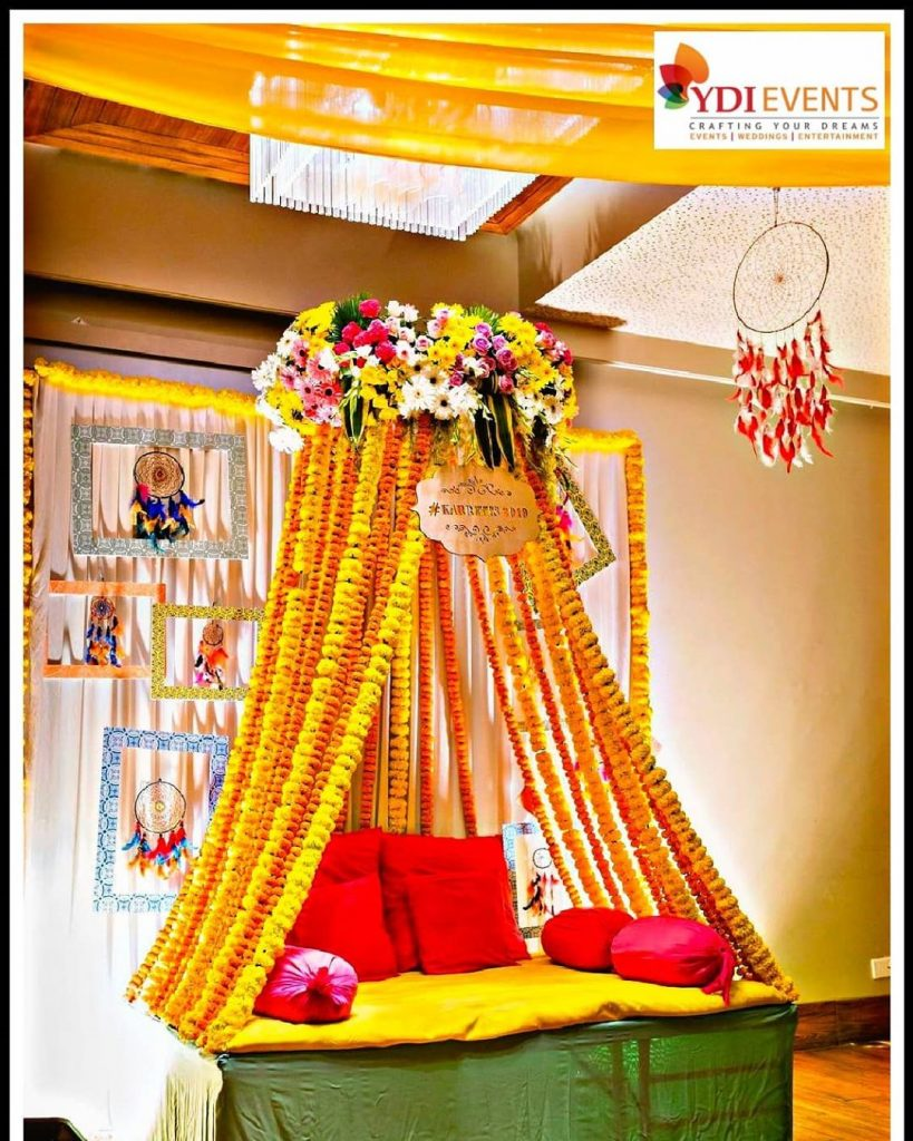 19 Incredible Haldi Decor Ideas for the perfect Indian Wedding, 5 6