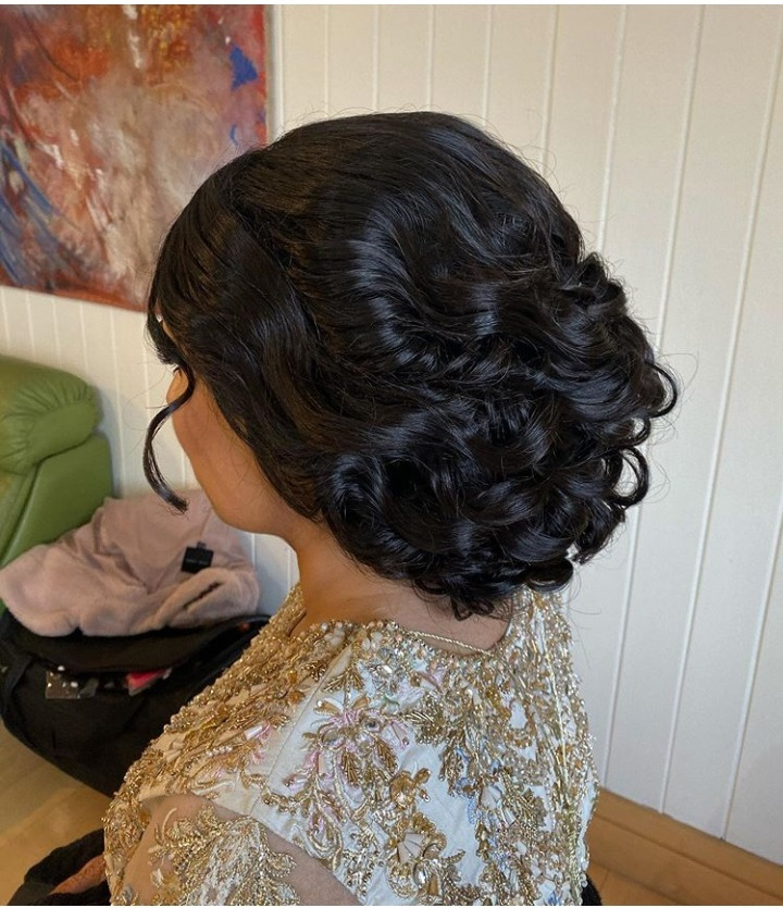 best asian bridal hairstyle