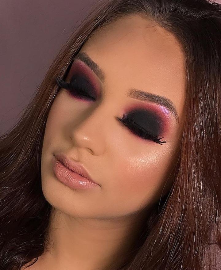 trending bridesmaid makeup