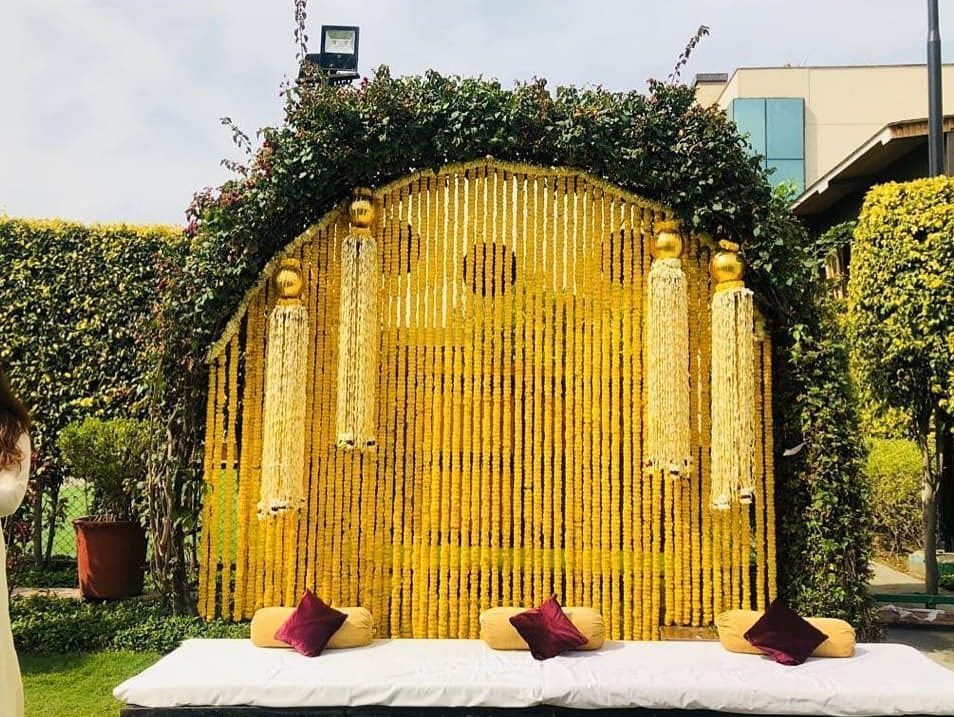 19 Incredible Haldi Decor Ideas for the perfect Indian Wedding, wed e1594737621205