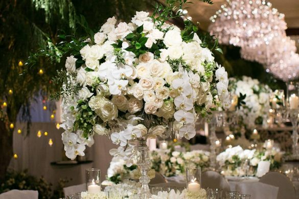 Gorgeous and Unique Wedding Centerpieces for the Gala Dinner, 3 1