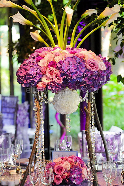 Gorgeous and Unique Wedding Centerpieces for the Gala Dinner, 5