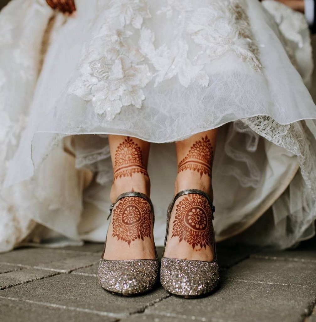 24 Amazing Feet Mehendi Designs for Brides, Only Mandala Design For Feet