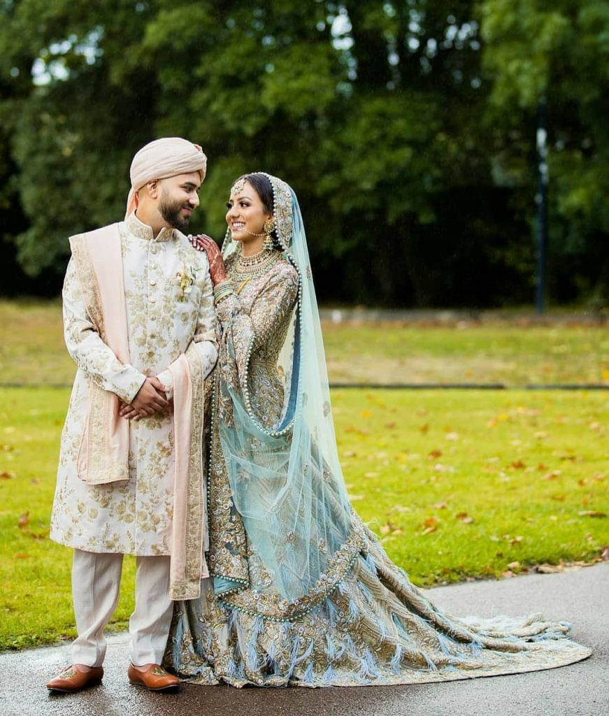 20 Gorgeous Bridal Trail Lehengas and Gowns That Made Our Jaws Drop!, wedmeplz wedmeplz 15967216661940