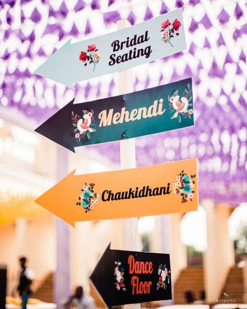 18 Fascinating Wedding Sign Board to Welcome your Guests in Style, 1 129