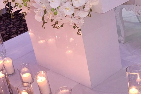 Elegant Ways to Choose White Color Theme for Your Wedding Venue, 1 14