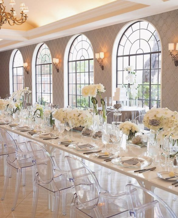 Elegant Ways to Choose White Color Theme for Your Wedding Venue, 1 15
