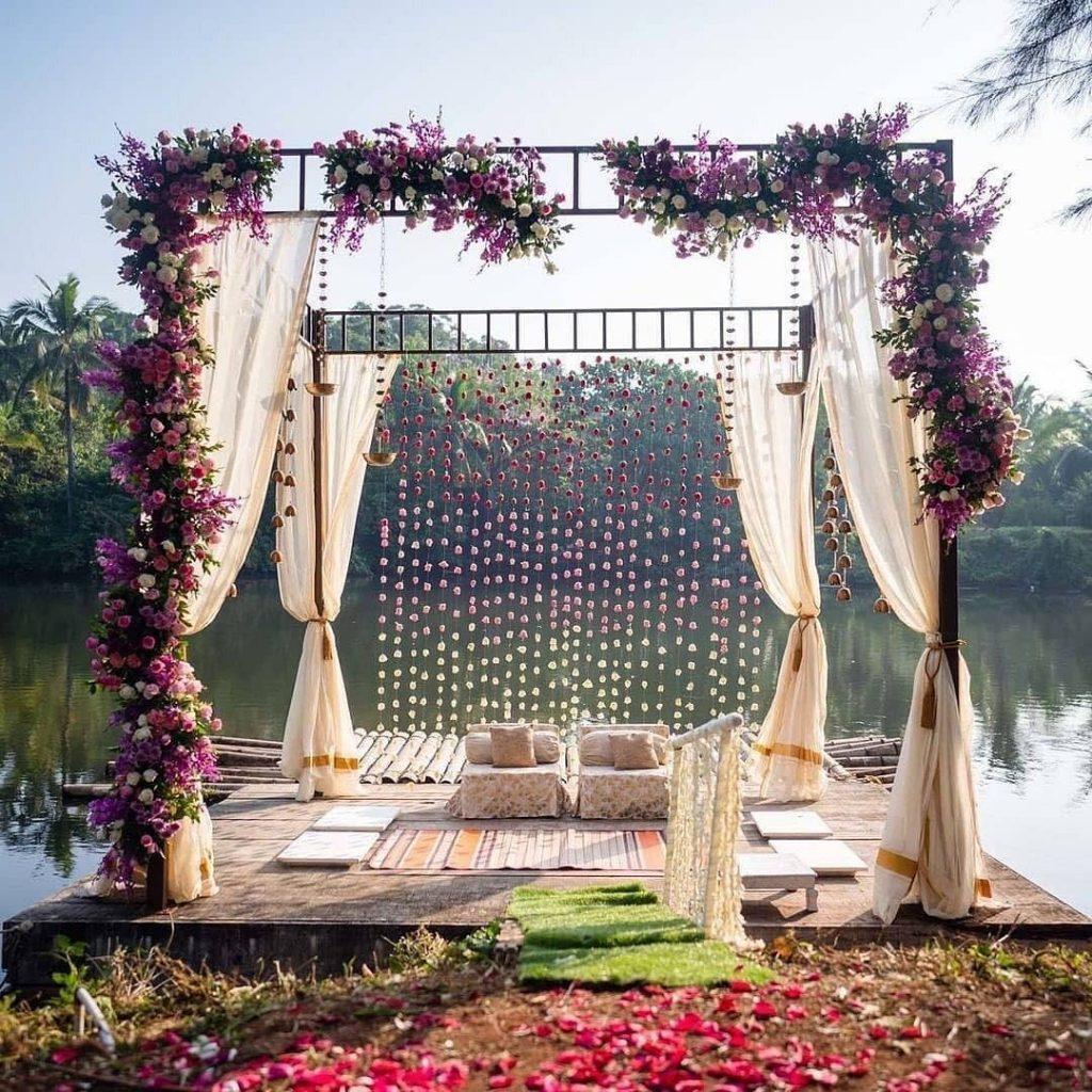 24 Enchanting Floral Mandap Decor for Planning OTT Indian Wedding, 1 155