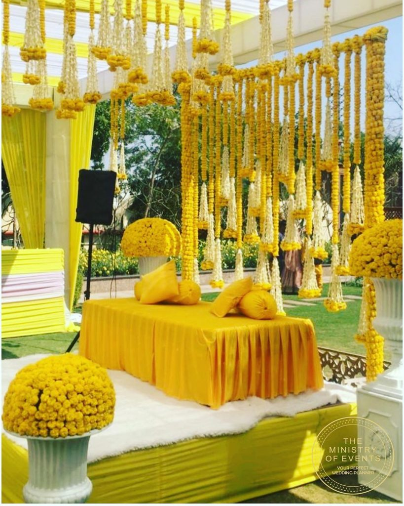 19 Incredible Haldi Decor Ideas for the perfect Indian Wedding, 1 167