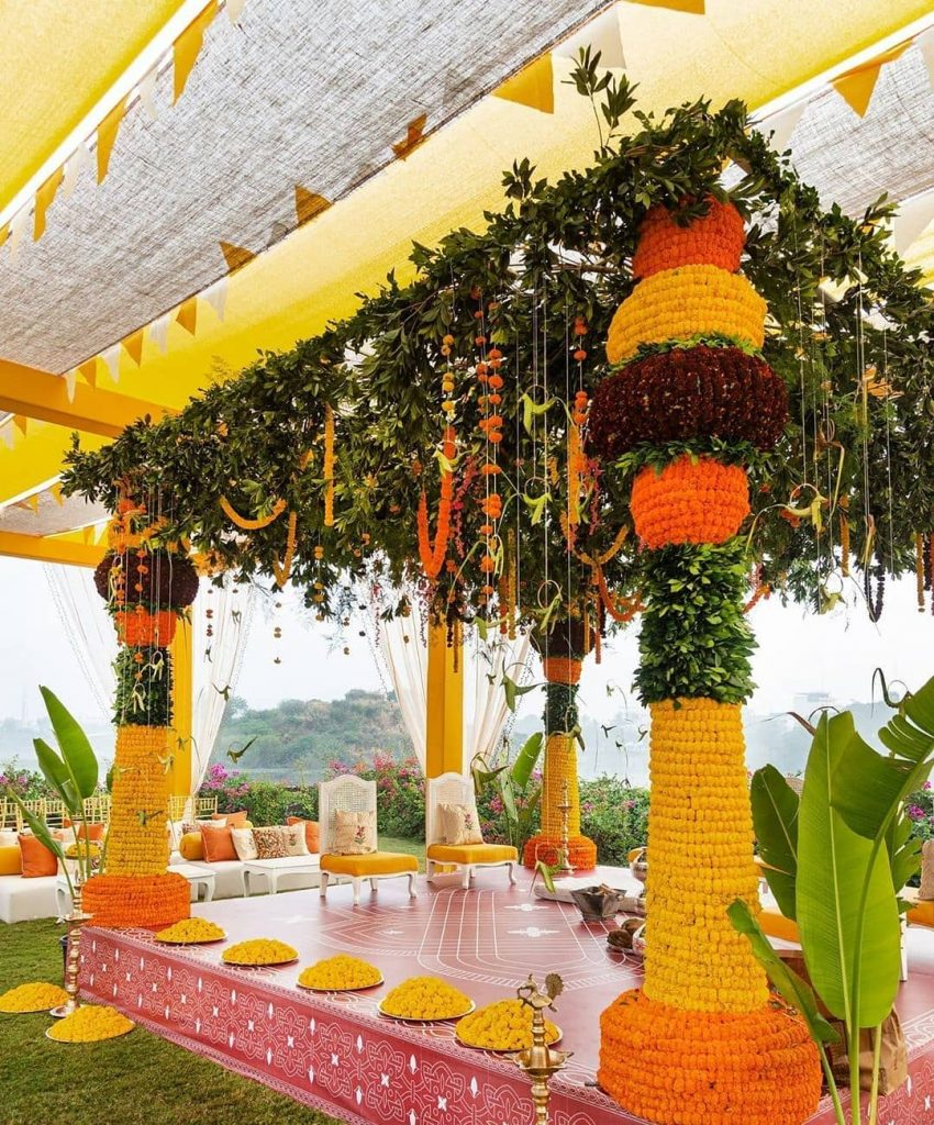 19 Incredible Haldi Decor Ideas for the perfect Indian Wedding, 1 174
