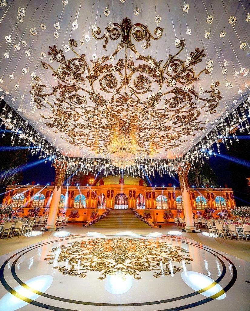 22 Mesmerising & Unique Ceiling Decor Ideas for Wedding Venue, 1 217