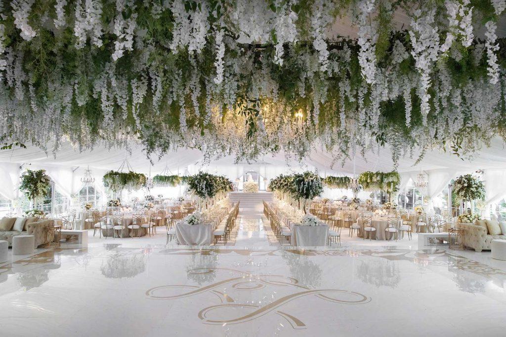 22 Mesmerising & Unique Ceiling Decor Ideas for Wedding Venue, 1 221