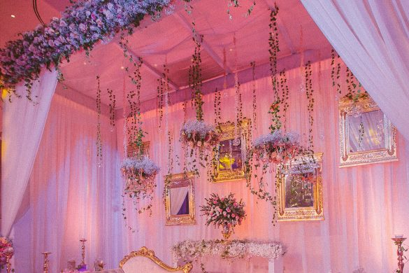 All Pink Decor Elements for a Fairytale Wedding Venue, 1 39