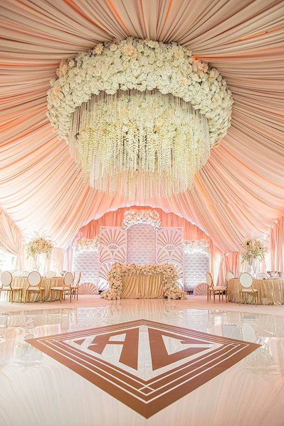 All Pink Decor Elements for a Fairytale Wedding Venue, 1 40