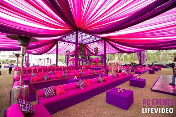 All Pink Decor Elements for a Fairytale Wedding Venue, 1 42