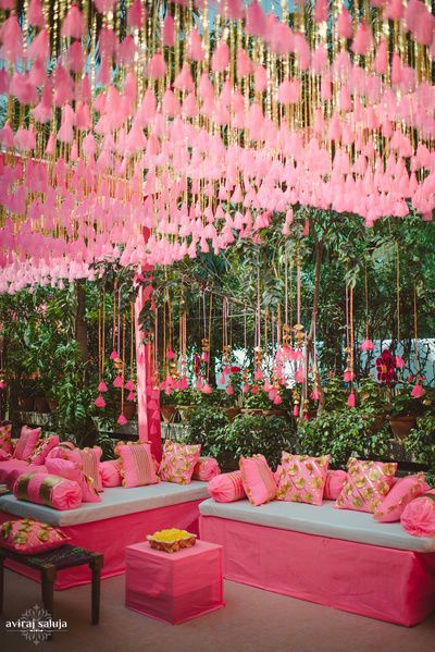 All Pink Decor Elements for a Fairytale Wedding Venue, 1 43
