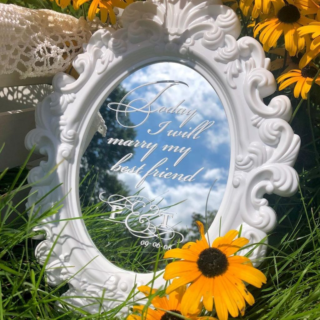 #Timeless trends: Fancy and Elegant Mirror Decor and Welcome Signs, 1 48