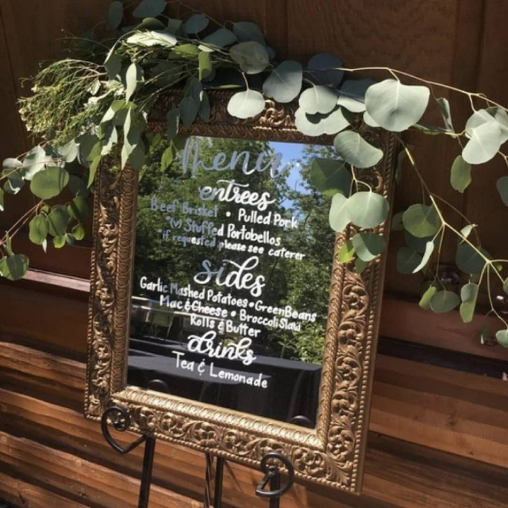 #Timeless trends: Fancy and Elegant Mirror Decor and Welcome Signs, 1 53