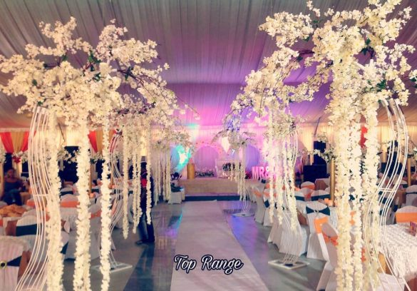 Trending Walkway Decor Ideas that could be the Oomph Factor of Your Wedding, 1