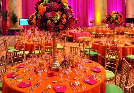 All Pink Decor Elements for a Fairytale Wedding Venue, 1 63