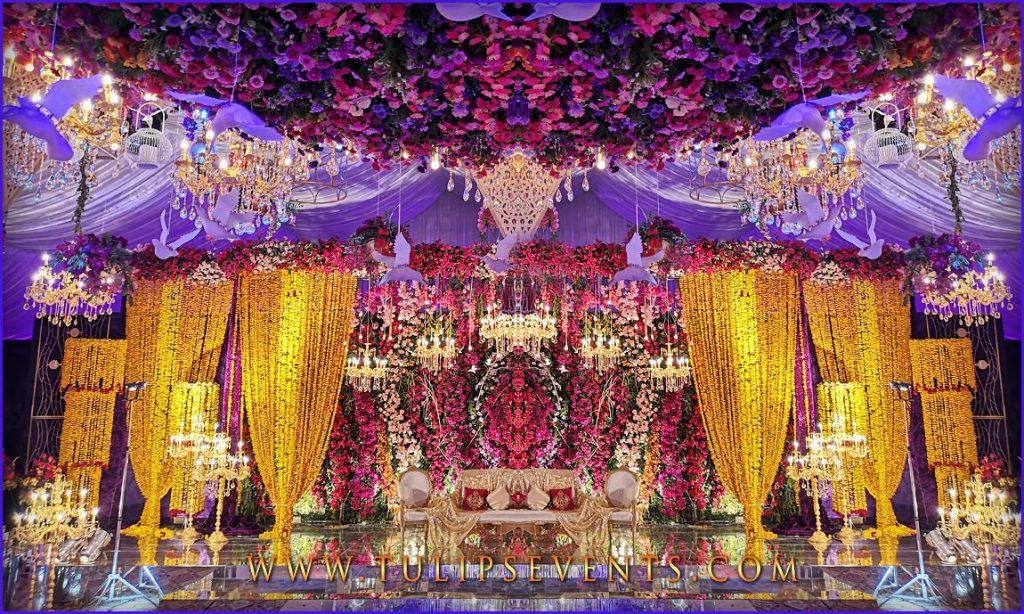 23 Gorgeous Stage Decor Ideas for a Luxurious Wedding, 1 75