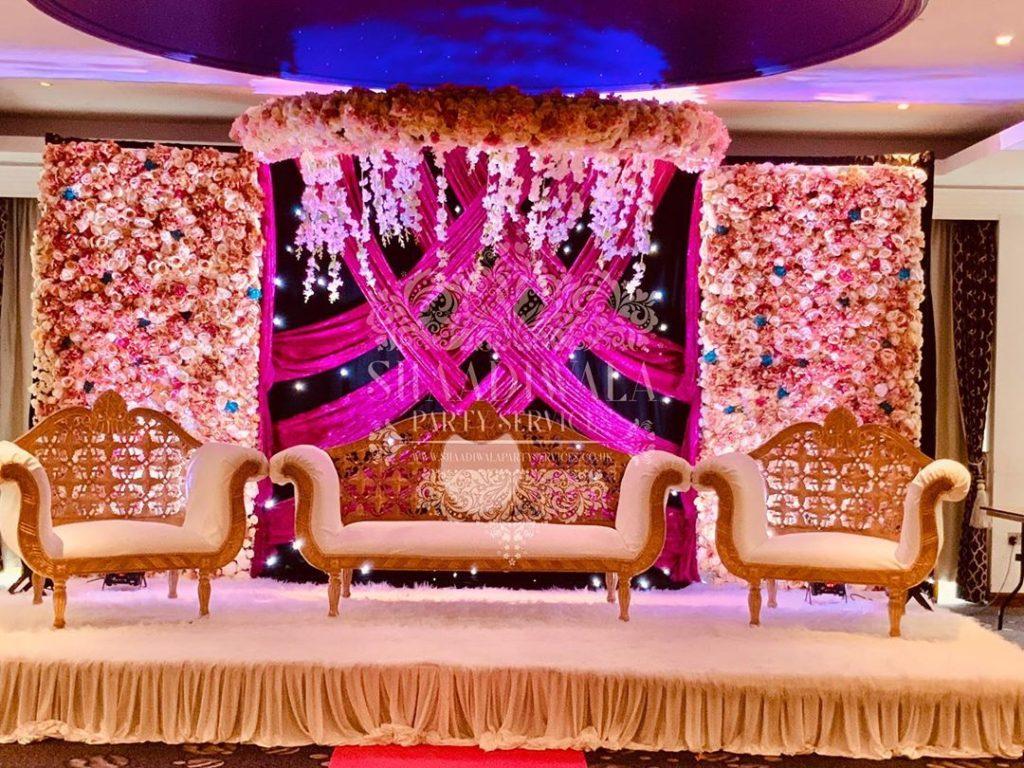 23 Gorgeous Stage Decor Ideas for a Luxurious Wedding, 1 82