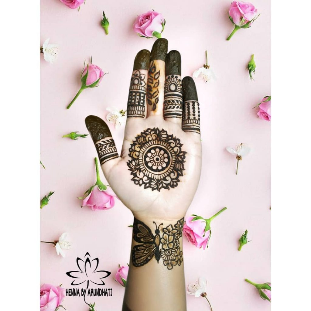 20+ Mandala Mehendi Designs for Brides, 118508469 233890317950527 8541763239693328015 n