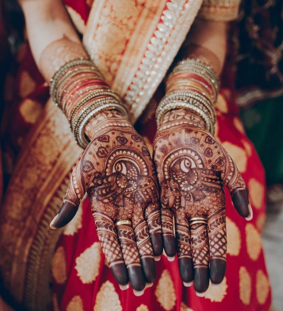 20+ Mandala Mehendi Designs for Brides, 12.Half Mandala Design
