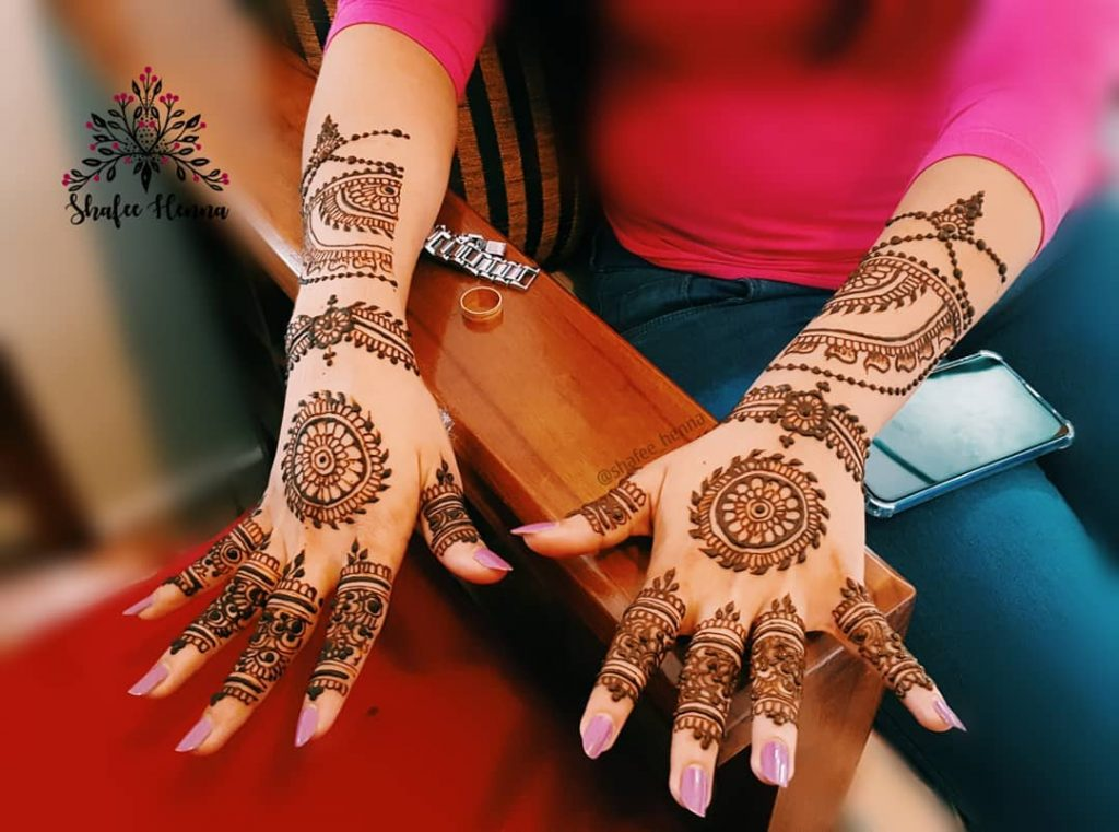 20+ Mandala Mehendi Designs for Brides, 16. Mandala on Back Hand