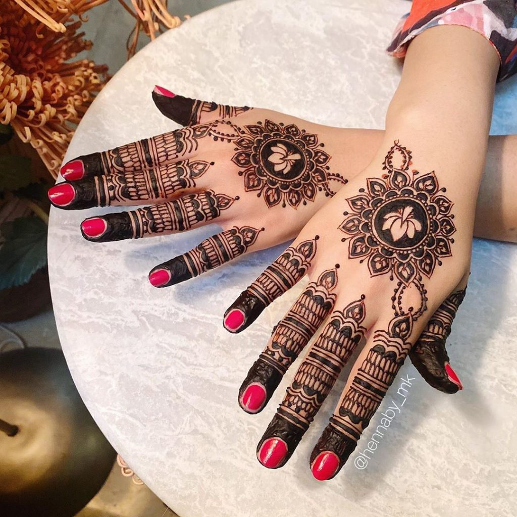 20+ Mandala Mehendi Designs for Brides, 19. Lotus Mandala
